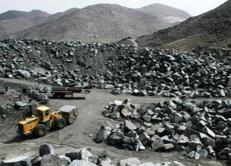 سنگآهن از چاه قیمت درآمد