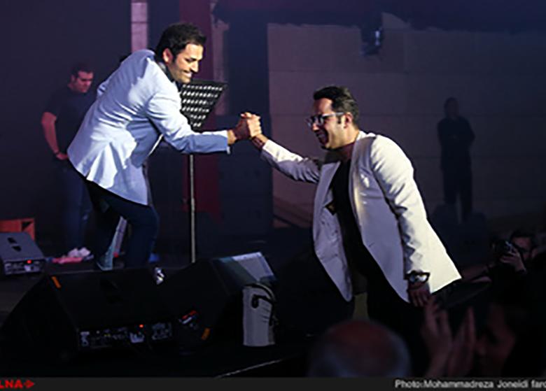 گزارش تصویری کنسرت میثم ابراهیمی در برج میلاد