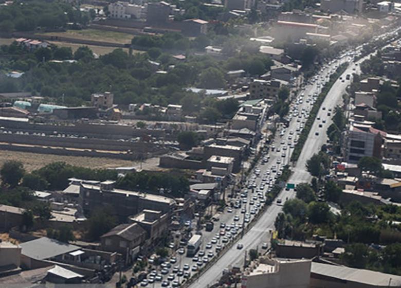 ترافیک نیمهسنگین در محورهای شمال به جنوب هراز