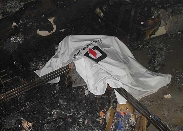 وقوع آتشسوزی مرگبار در کارگاه جاده خاوران