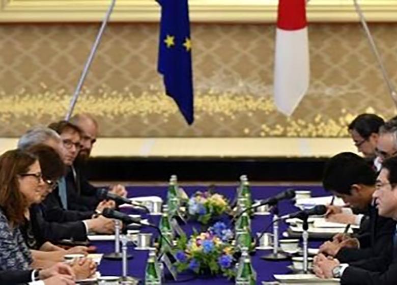 ژاپن و اتحادیه اروپا توافقنامه تجارت آزاد امضا میکنند