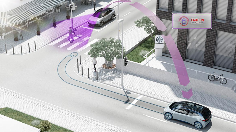 تکنولوژیهای نوین فولکس واگن؛ حرکت ایمنتر به سوی آینده