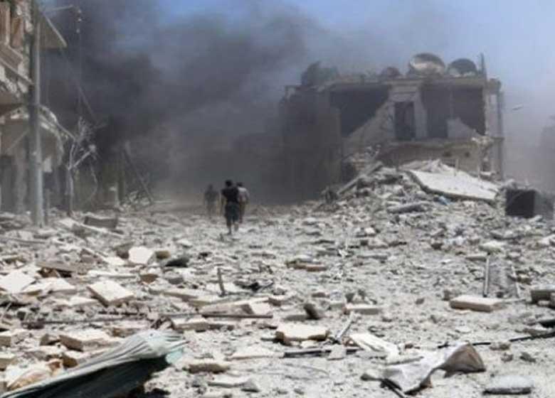 ده ها کشته در حمله ائتلاف آمریکا به رقه