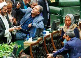 لحظه سلفی گرفتن نمایندگان مجلس با موگرینی + فیلم