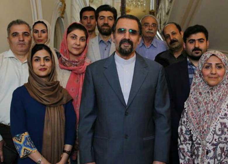 قدردانی سفیر ایران در مسکو از تلاشهای خبرنگاران