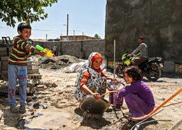 وضعیت منطقه زلزله زده سفید سنگ