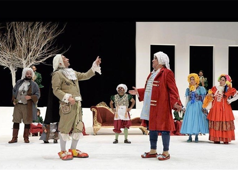 تیزر نمایش «خسیس» مریم کاظمی منتشر شد
