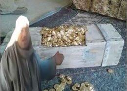 گنج قارون، در مصر پیدا شد! +ویدیو