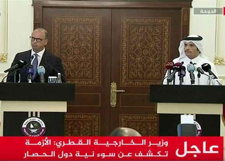 واکنش وزیر خارجه قطر به دست دادن ظریف با جبیر