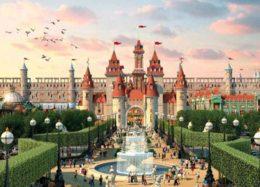 ساخت بزرگترین پارک تفریحی سرپوشیده جهان در روسیه
