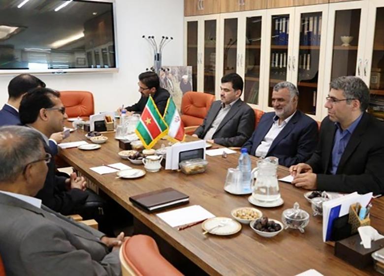 سورینام خواستار توسعه همکاری کشاورزی با ایران