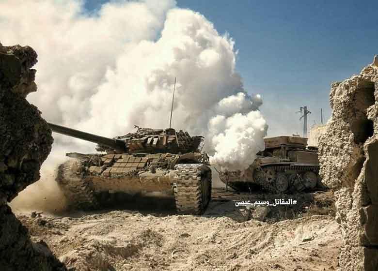 «السخنه» از اشغال داعش آزاد شد/ ارتش سوریه در ۵۰ کیلومتری دیرالزور