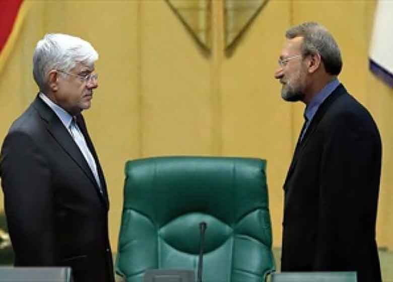 «دوئل» عارف و لاریجانی بر سر کابینه دوم روحانی /«مستقلین مجلس» به چپ خواهند چرخید یا به راست؟