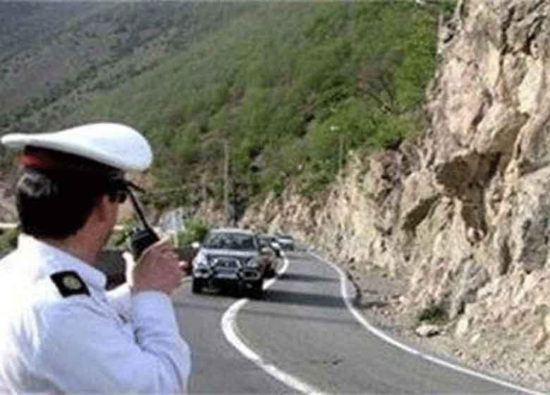 ترافیک در محورهای کرج-چالوس و هراز