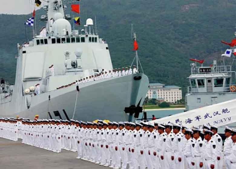 ناوگان دریایی چین وارد عربستان شد
