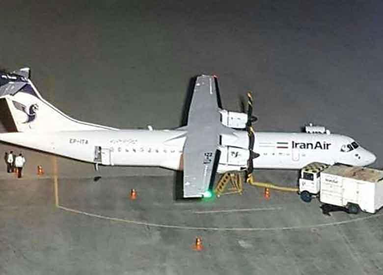 نقص فنی ادامهدار در هواپیما های ATR نو /تامین قطعه به مشکل خورد