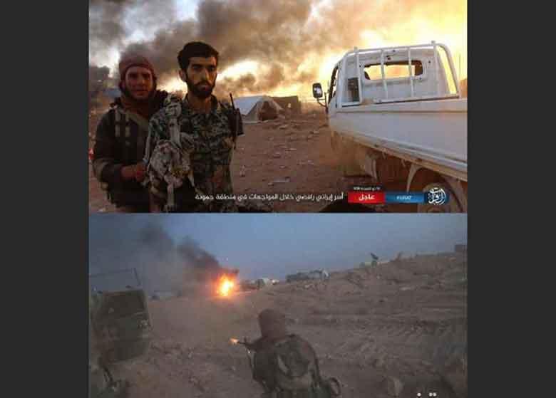 داعش مدعی اسارت یک رزمنده ایرانی شد