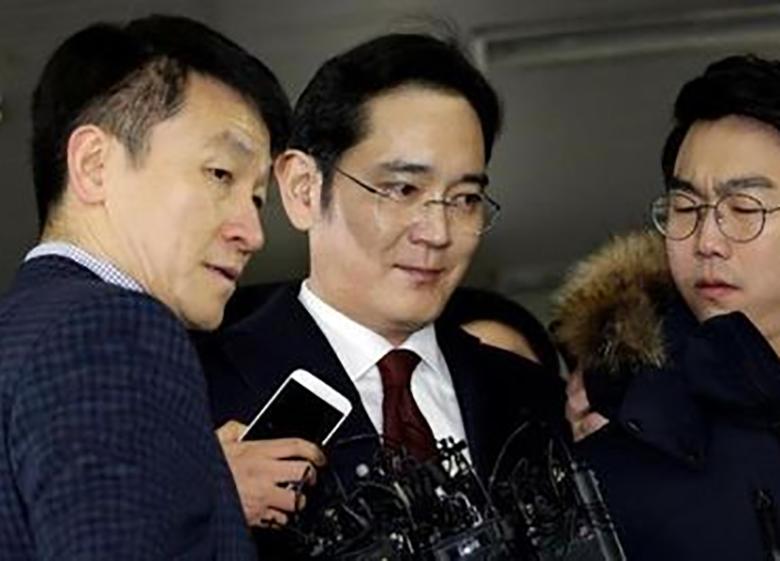 ۱۲سال زندان در انتظار مدیرعامل سامسونگ
