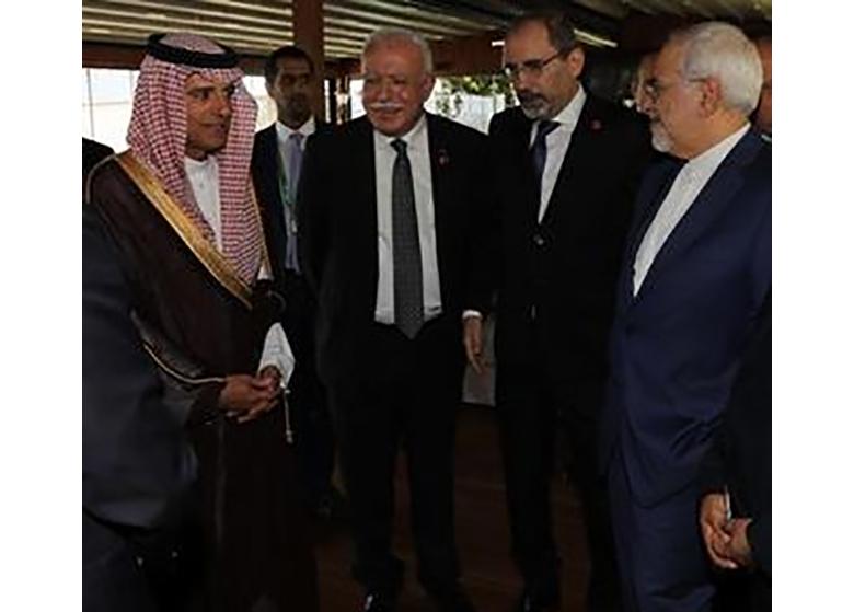 تحلیلی بر دست دادن دیروز ظریف و عادل الجبیر