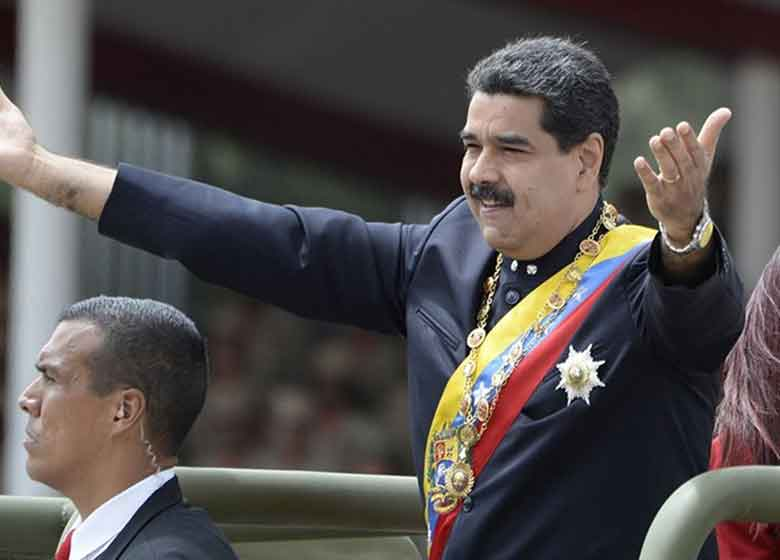 مادورو  ترامپ و نظام انتخاباتی آمریکا را به سخره گرفت