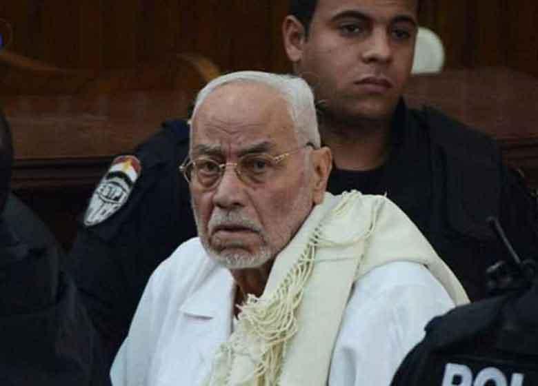 هشدار خانواده رهبر سابق اخوان مصر دربارۀ سلامتی وی
