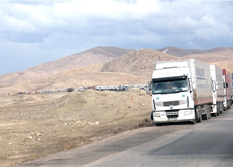 ترکیه از خاک ایران به قطر کالا صادر میکند