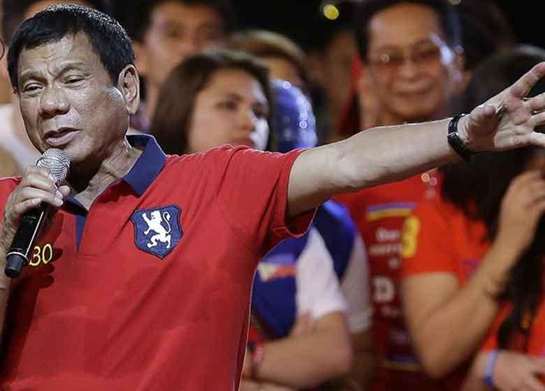 رئیس جمهور فیلیپین: حقوق بشر برود به درک!
