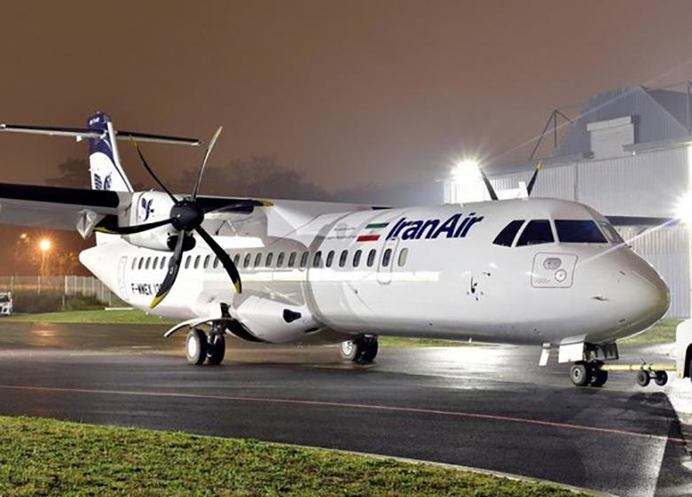 هواپیمای ATR کاملا با اقلیم ایران سازگاری دارد