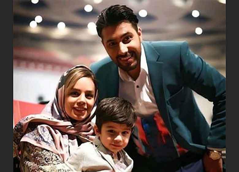 احسان خواجه امیری، همسر و پسرش در حاشیه کنسرت این خواننده | عکس
