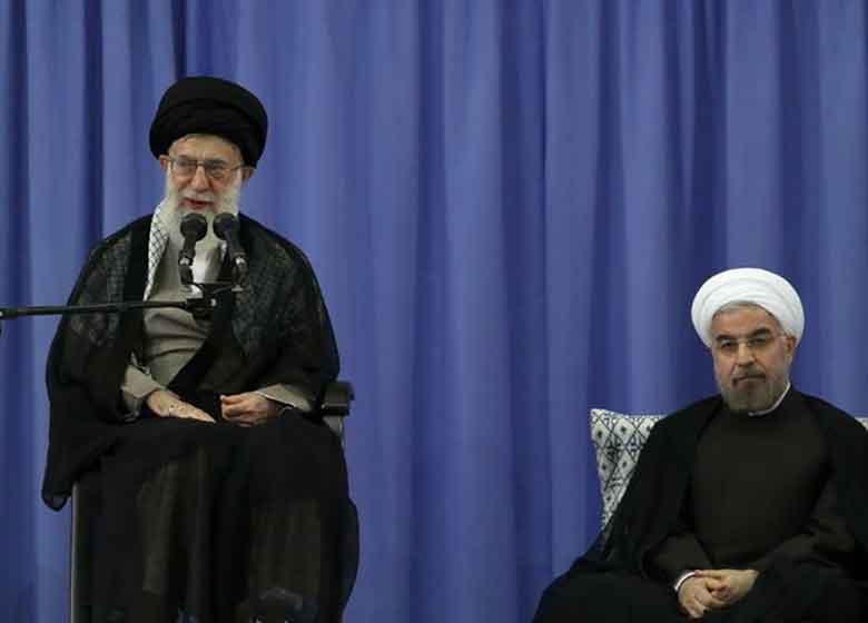 رهبر انقلاب در مراسم تنفیذ رئیسجمهور: این جلسه نماد مردمسالاری است