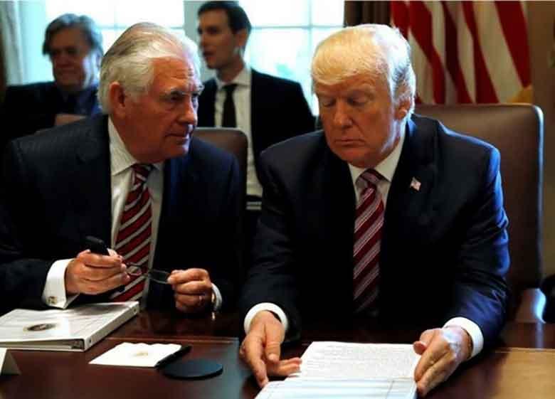 اختلافات در دولت ترامپ بر سر ایران علنی شد