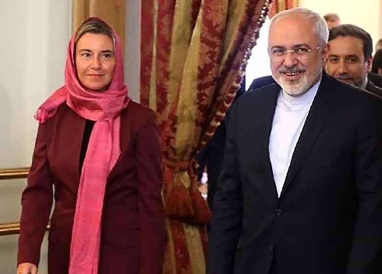 ظریف خطاب به موگرینی: هوشیار باشید! ترامپ تلاش میکند به هزینه ایران برجام را از بین ببرد