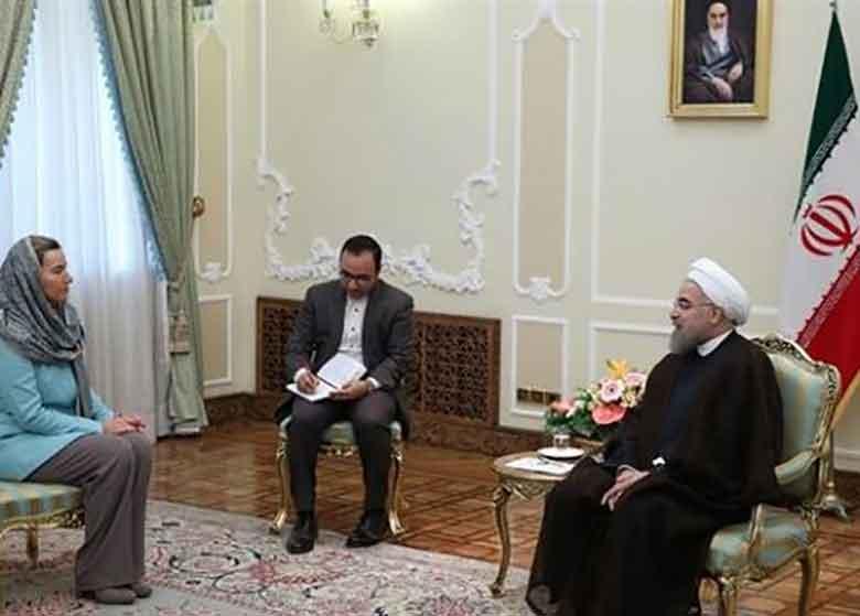 سفر موگرینی به تهران و صف آرایی جدید اتحادیه اروپا درحمایت از برجام