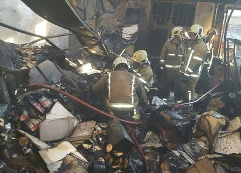 جزئیات آتشسوزی در ایستگاه متروی مشهد