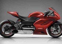 موتورسیکلت جدیدMTT با ۴۲۰ اسب بخار، رونمایی شد