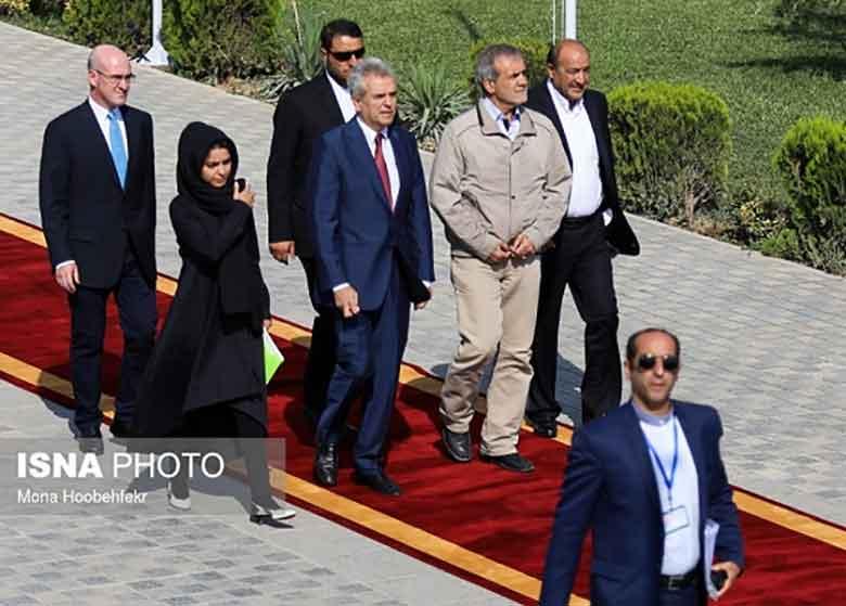 مهمانان خارجی مراسم تحلیف رییسجمهور چه کسانی هستند؟ +جدول