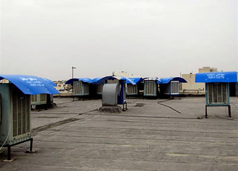 بازار کولر آبی در روزهای داغ تابستان