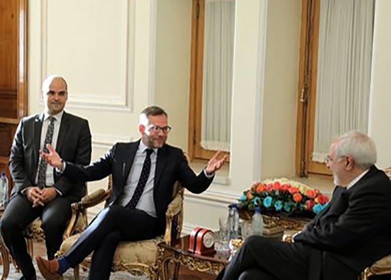 دیدار وزیر مشاور در وزارت خارجه آلمان با ظریف