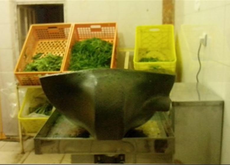 درآمدزایی با سبزی پاککنی مکانیزه
