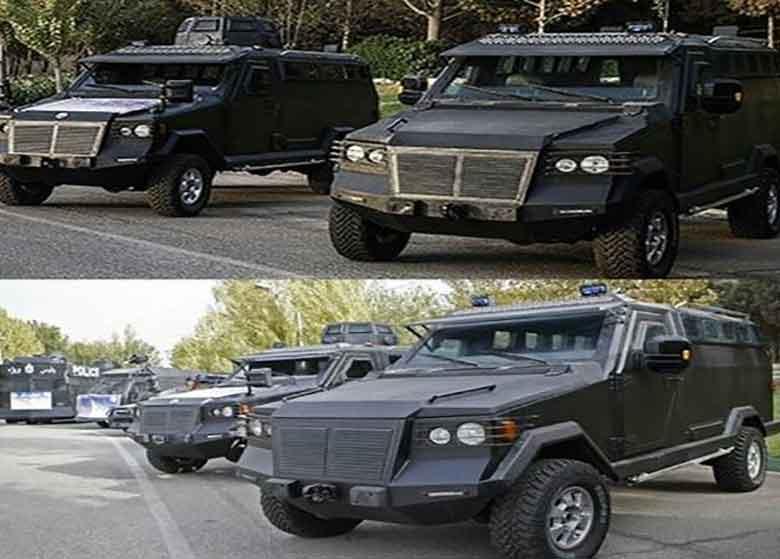 کدام خودروها امنیت مراسم تحلیف را به عهده دارند+عَکس
