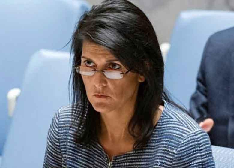 هیلی: سلاحها از آسمان به دست تروریستها نمیرسد/ ایران درصدد ساخت انبارهای سلاح در لبنان است