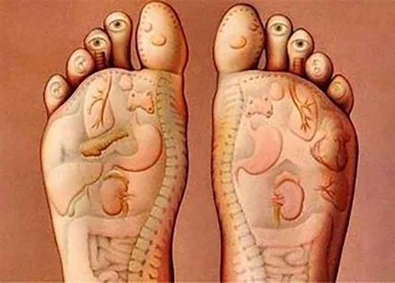 ماساژ پاها چه فایده ای دارد؟