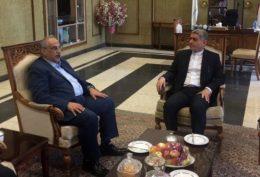 بار سنگین رکود اقتصادی به دوش وزیر اقتصاد جدید افتاد/کرباسیان با طیبنیا دیدار کرد