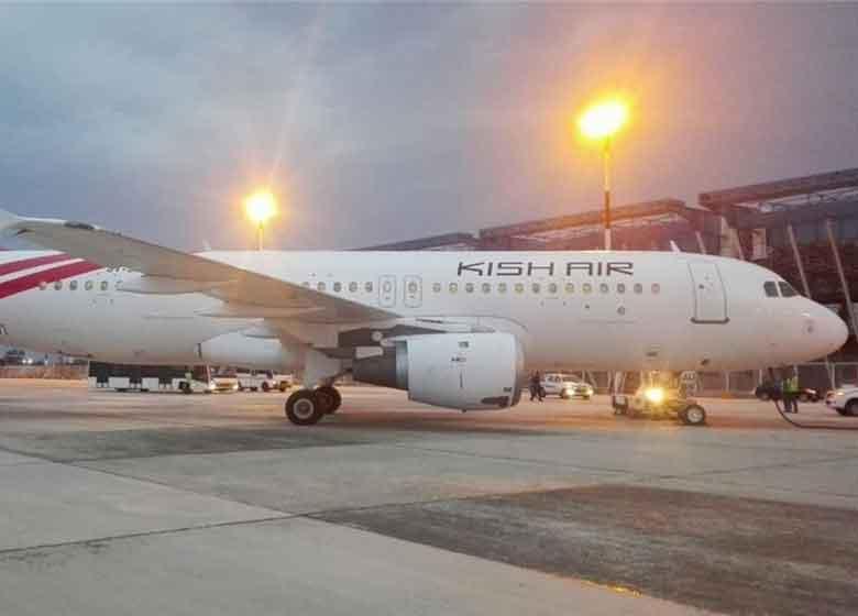 پرواز استانبول-تهران کیشایر با تاخیر ۶ ساعته