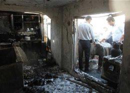 انفجار در منزل مسکونی/حادثه تلفات نداشت