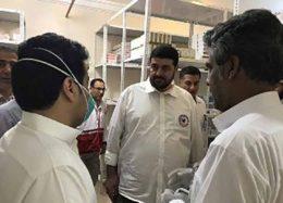 عیادت از بیماران بستری در بیمارستان سعودی