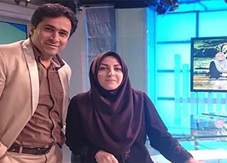 عکسی متفاوت از زوج گوینده خبر