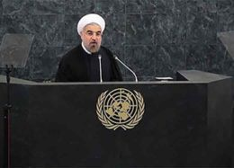 پخش زنده سخنرانی رییس جمهوری در سازمان ملل از شبکه۱