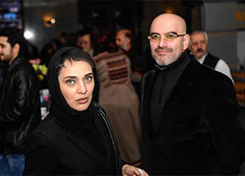 خانم بازیگر و همسرش مجریان جشن مستند