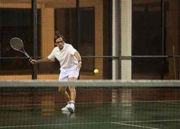 مشکلات یک زوج هالیوودی به میدان تنیس کشیده شد